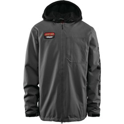 Clothing Men Jackets Thirtytwo Santa Cruz Charcoal Merchant Snowboarding Jacket Grey