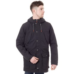 Clothing Men Parkas O'neill Black Out FA17 Journey Parka Jacket Black