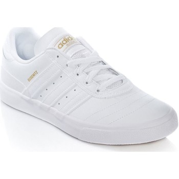Shoes Men Low top trainers adidas Originals Footwear White-Gold Metalic Busenitz Vulc Shoe White