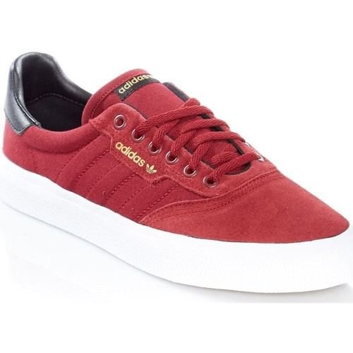 Shoes Men Low top trainers adidas Originals 3MC Suede Shoe Red