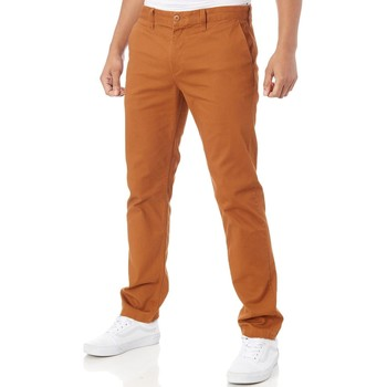 Clothing Men Chinos DC Shoes Wheat Worker Slim Fit - 32 Inch Jeans Brown
