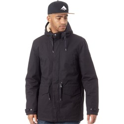 Clothing Men Jackets Element Roghan - Sherpa Lined Flint Black