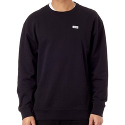 Clothing Men Fleeces Vans Black Retro Tall Type Crew Sweater Black