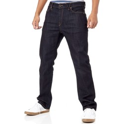 Clothing Men Straight jeans Volcom Rinse Kinkade Jeans Blue