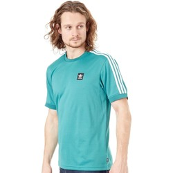 Clothing Men Short-sleeved t-shirts adidas Originals Active Green-White Club Jersey T-Shirt Green