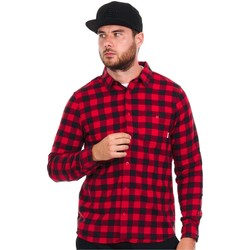 Clothing Men Long-sleeved shirts Element Jedway Red