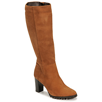 Shoes Women High boots Betty London NOEME Camel