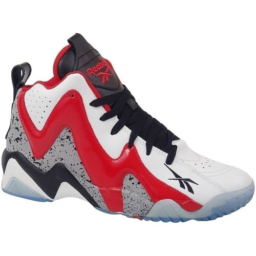 Shoes Men Basketball shoes Reebok Sport Kamikaze II Mid White,Red,Grey