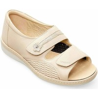 Shoes Women Sandals Padders Peaceful Womens Wide Fit Sandals BEIGE