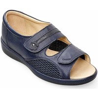 Shoes Women Sandals Padders Peaceful Womens Wide Fit Sandals blue