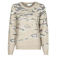 Clothing Women Jumpers Vila VILIDI Beige