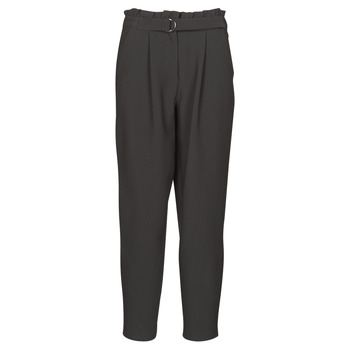 Clothing Women Cropped trousers Vila VICHARLOTTE Black