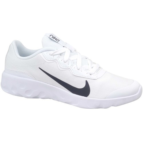 Shoes Children Low top trainers Nike Explore Strada GS White