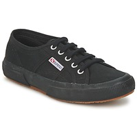 Shoes Low top trainers Superga 2750 COTU CLASSIC All Black