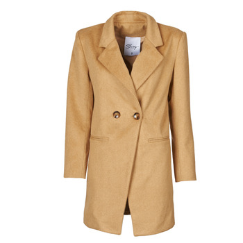 Clothing Women Coats Betty London LORDLY Beige