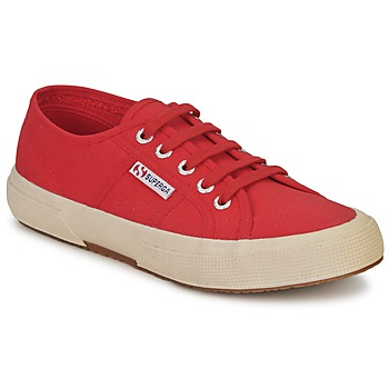 Shoes Low top trainers Superga 2750 COTU CLASSIC Brown / Red
