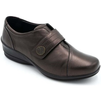Shoes Women Derby Shoes Padders Simone Womens Casual Wedge Shoe brown
