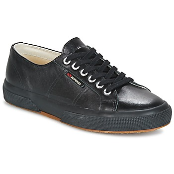 Shoes Low top trainers Superga 2750 LUXE EDITION Black