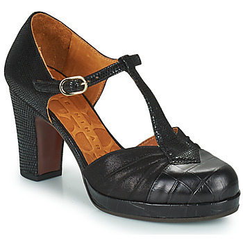 Vintage Heels, Retro Heels, Pumps, Shoes Chie Mihara  JUDETA  womens Court Shoes in Black £288.00 AT vintagedancer.com