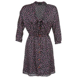 Clothing Women Short Dresses Kookaï IXIMALE Black / Purple