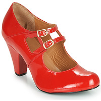 Shoes Women Heels Cristofoli MASTIS Red / Varnish