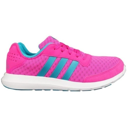 Shoes Women Low top trainers adidas Originals Rew Blue,Pink