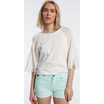 Clothing Women Shorts / Bermudas Lois Coty Short Master 572 bleu anis 206532506 Blue