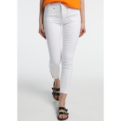 Clothing Women slim jeans Lois Jean  Blanc Slim 206992041/501 White