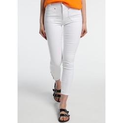 Clothing Women Slim jeans Lois Jean  Blanc Slim 206992041/501 White