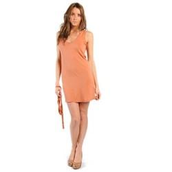 Clothing Women Dresses American Vintage ROBE NOU28 ROUILLE Orange