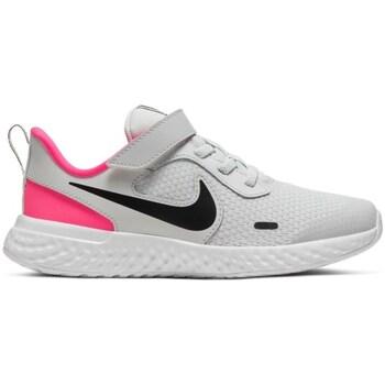 Shoes Children Running shoes Nike Revolution 5 Black,Grey,Pink