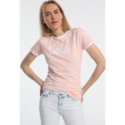 Clothing Women short-sleeved t-shirts Lois T Shirt Rose 420472094 Pink