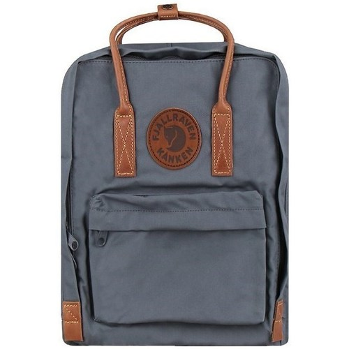 Bags Rucksacks Fjallraven Kanken NO 2 Laptop 15 Grey
