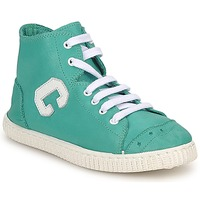Shoes Girl Hi top trainers Chipie SARTANE TURQUOISE
