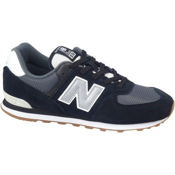 Shoes Children Low top trainers New Balance 574 Black,Grey