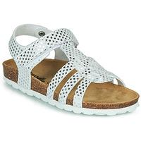 Shoes Girl Sandals Citrouille et Compagnie MALIA White