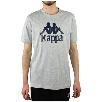 Clothing Men Short-sleeved t-shirts Kappa Caspar Tshirt Grey