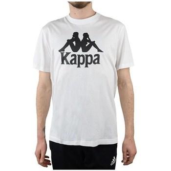 Clothing Men Short-sleeved t-shirts Kappa Caspar Tshirt White