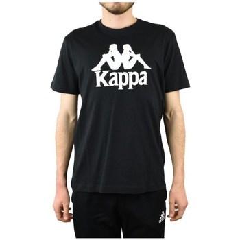 Clothing Men Short-sleeved t-shirts Kappa Caspar Tshirt Black