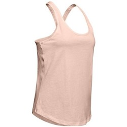 Clothing Women Short-sleeved t-shirts Under Armour Xback Tank Pink