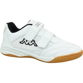 Shoes Children Low top trainers Kappa Kickoff K White