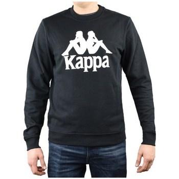 Clothing Men Sweaters Kappa Sertum RN Sweatshirt Black