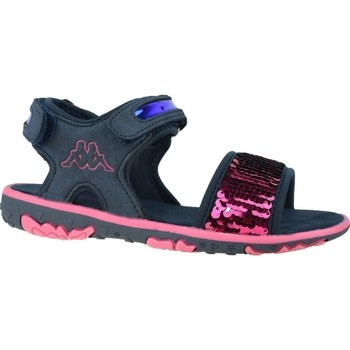 Shoes Children Sandals Kappa Seaqueen K Navy blue,Pink