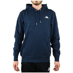 Clothing Men Sweaters Kappa Vend Hooded Navy blue