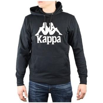 Clothing Men Sweaters Kappa Taino Hooded Black