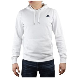 Clothing Men Sweaters Kappa Vend Hooded White