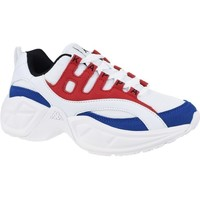 Shoes Women Low top trainers Kappa Overton White, Red, Blue