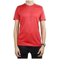 Clothing Men Short-sleeved t-shirts adidas Originals Supernova Short Sleeve Tee M Red