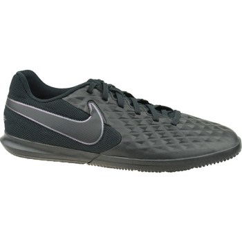 Shoes Men Football shoes Nike Tiempo Legend 8 Club IC Black,Graphite