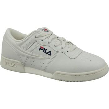 Shoes Men Low top trainers Fila Original Fitness White